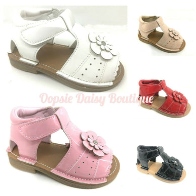 Girls Flower Sandals
