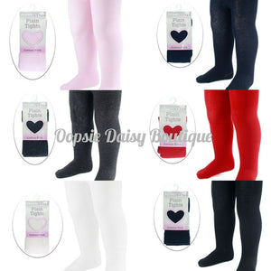 Cotton Rich Tights - Girls Boys Tights