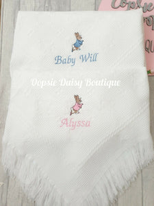 Boys Girls Peter Rabbit Soft Cotton Baby Hat