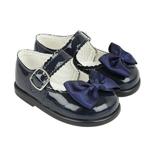Girls Baypods Walking Shoes Ribbon Shoes
