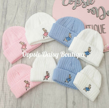 Load image into Gallery viewer, Baby Knitted Hats Boys Girls Peter Rabbit Beanie Hat