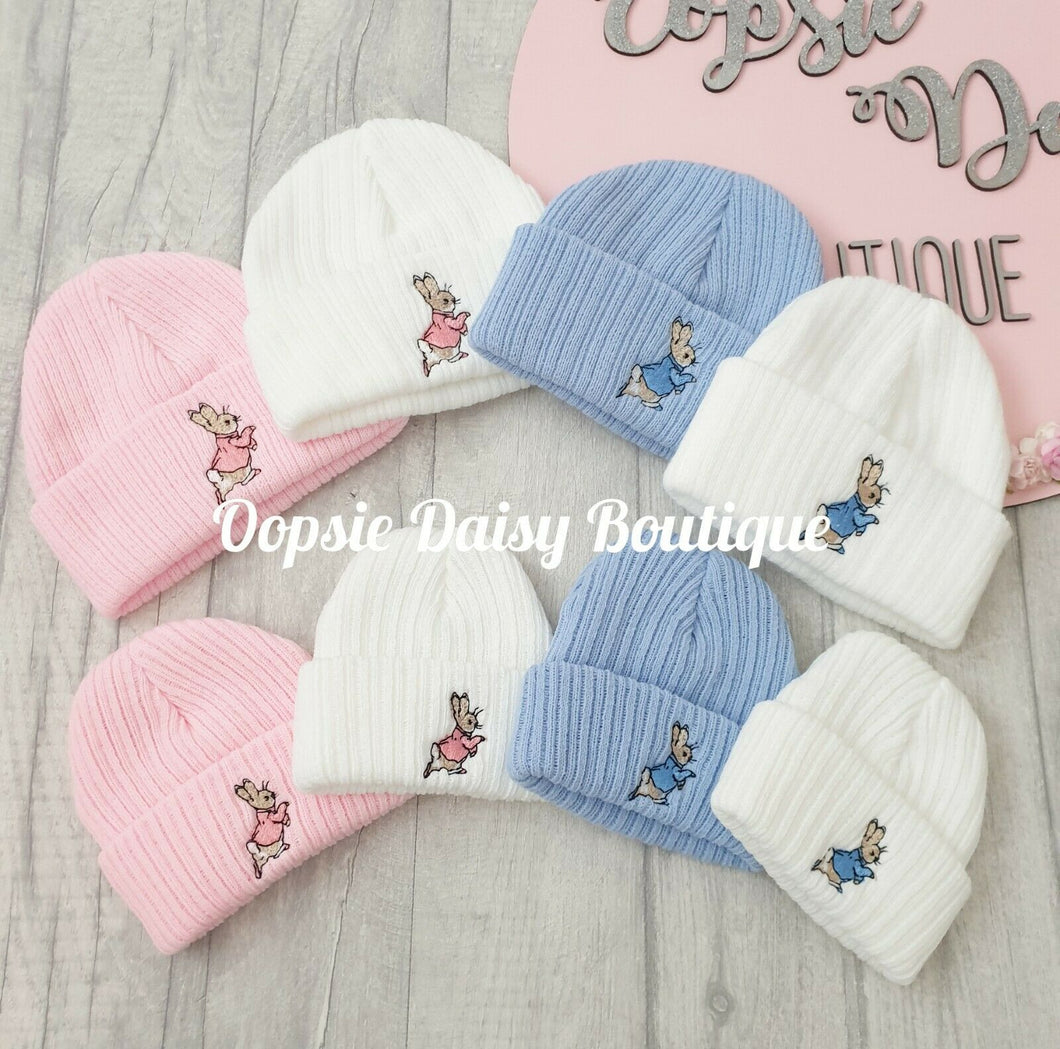 Baby Knitted Hats Boys Girls Peter Rabbit Beanie Hat