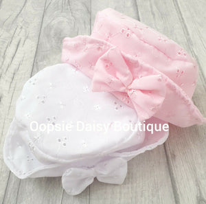 Girls Sun Hat  (0-12M) - Oopsie Daisy Baby Boutique