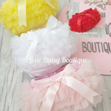 Load image into Gallery viewer, Girls Supersoft Frilly Knickers Ribbon & TuTu upto 4 years
