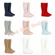 Load image into Gallery viewer, Condor Plain Spanish Knee High Socks