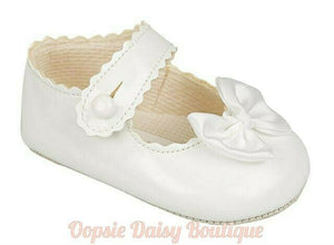 Baby Girls Baypod Ribbon Shoes 0-18mths