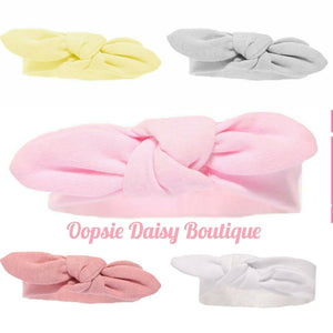 Baby Girls Knot Headbands  Size 0-12mth
