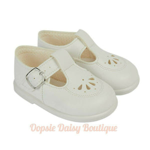 Boys Girls White Walking Shoes Baypods
