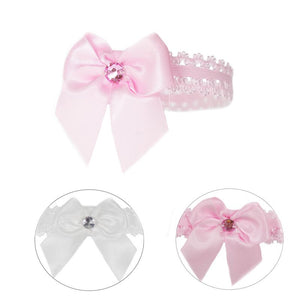 Baby Girls Ribbon & Lace Headbands