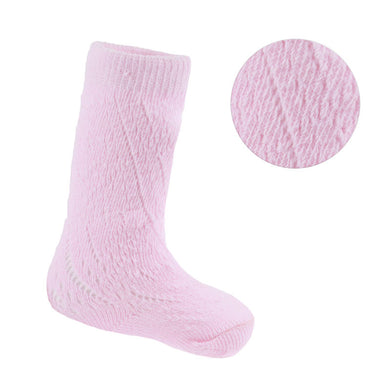 Pink Pelerine Knee High Socks