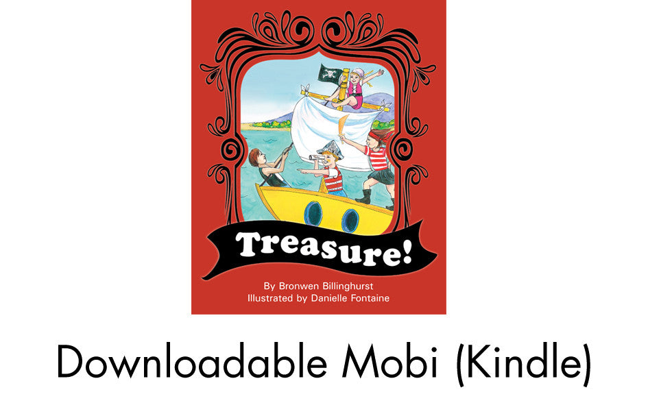 4. Treasure! - Mobi (Kindle) version