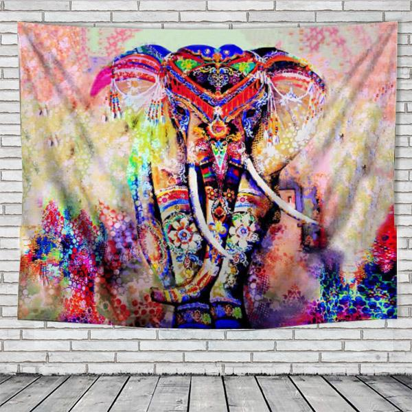 Elephant Tapestry - Elephant wall tapestry