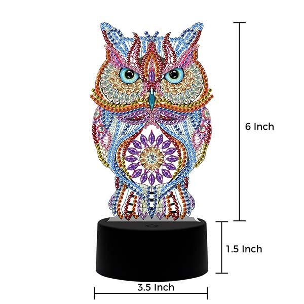 DIY Special Shaped Diamond Painting LED Night Light