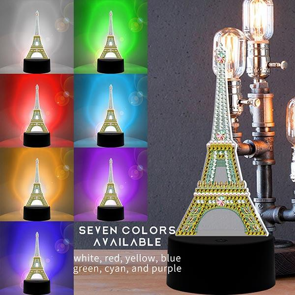 DIY Special Shaped  LED Diamond Painting Lamp