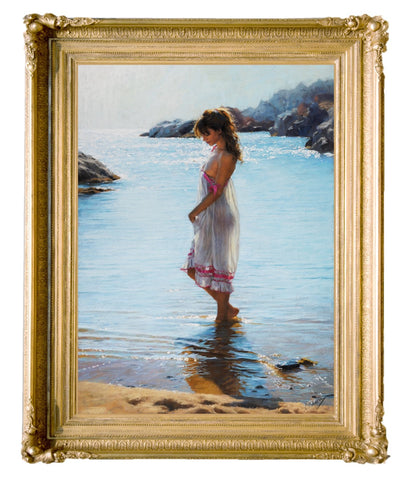 Framed Canvas Giclee by Vicente romero