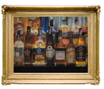 Bottles that Illuminate the Night—by Vicente Romero—Limited Edition Print