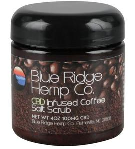 Blue Ridge CBD Coffee and Salt Scrub