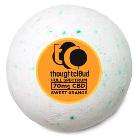 Thoughtcloud Bath Bomb Sweet Orange