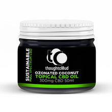 Load image into Gallery viewer, Thoughtcloud Topical Ozonated Coconut 300 mg