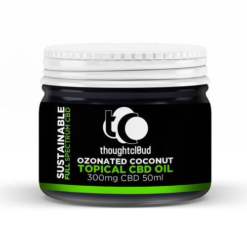 Thoughtcloud Topical Ozonated Coconut 300 mg