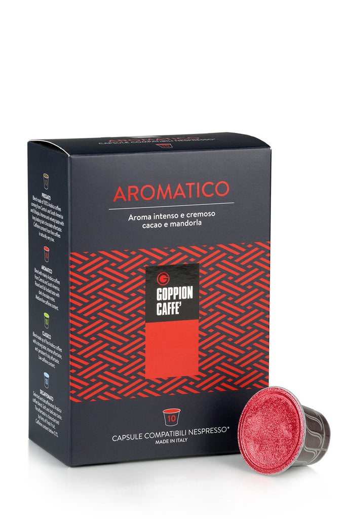 AROMATICO Capsule Coffee Machine - 10 cps