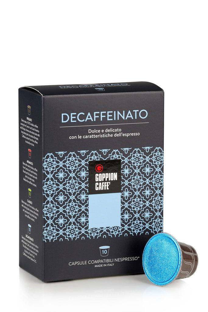 DECAFFEINATO Capsule Coffee Machine - 10 cps