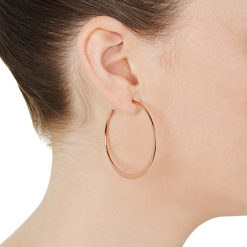 Essential Rose Hoop Earring