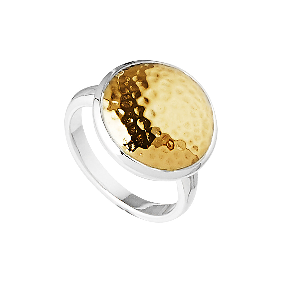 Grand Golden Glow Ring