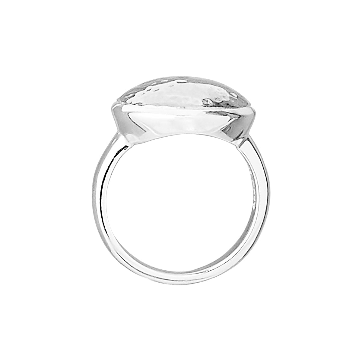 Grand Silver Glow Ring