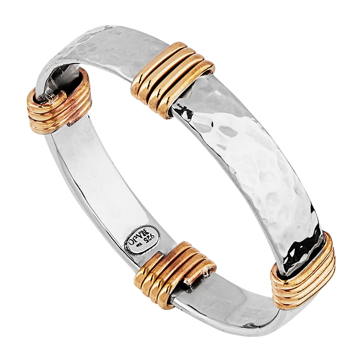 Tumbaga Amarres Wide Bangle (68mm)