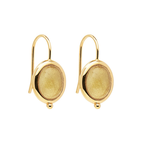 Justinia Earring Citrine