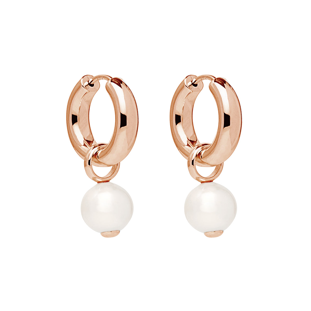Ms Perla Earring Rose