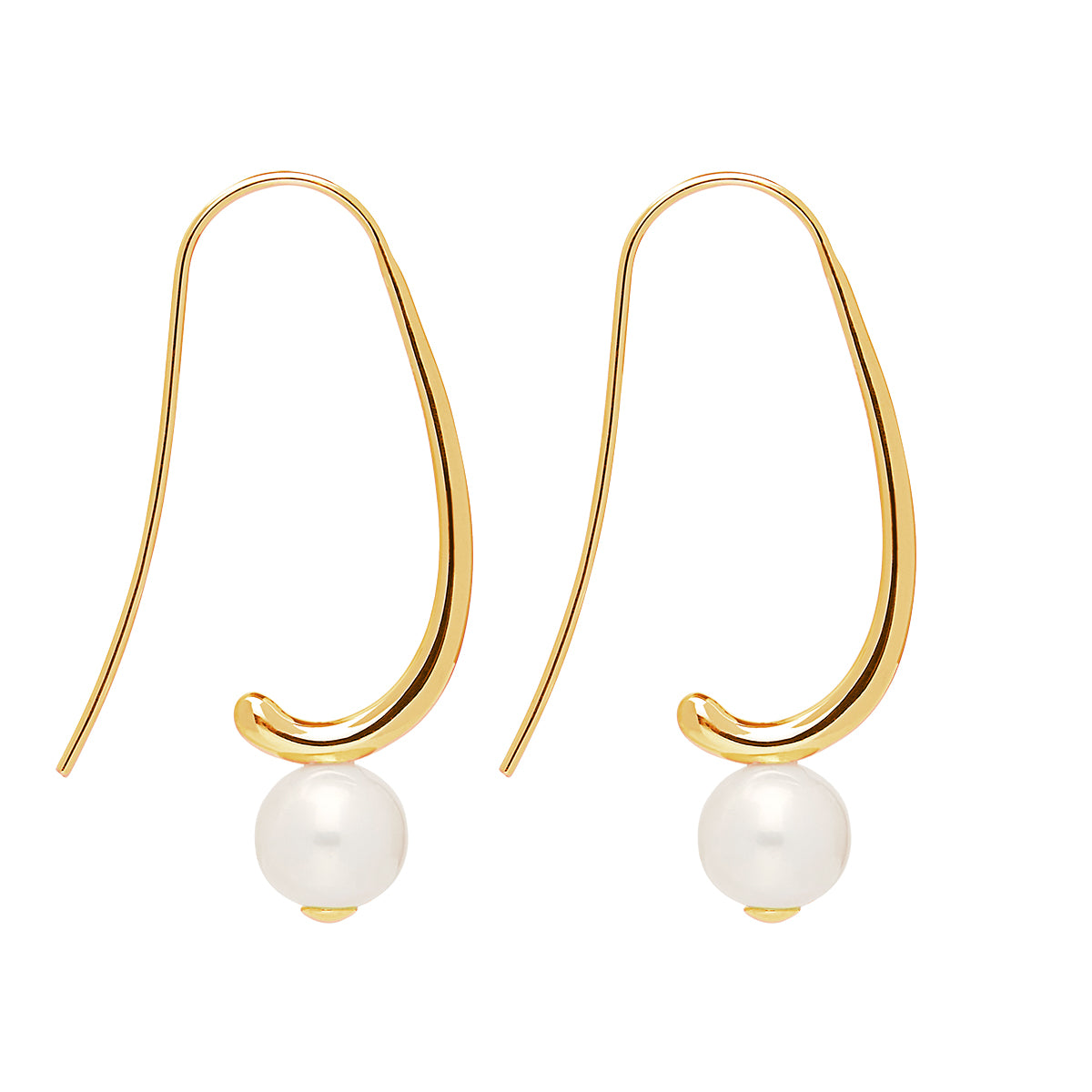 Provenance Gold Earring