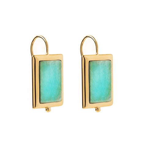 Josephine Amazonite Earring