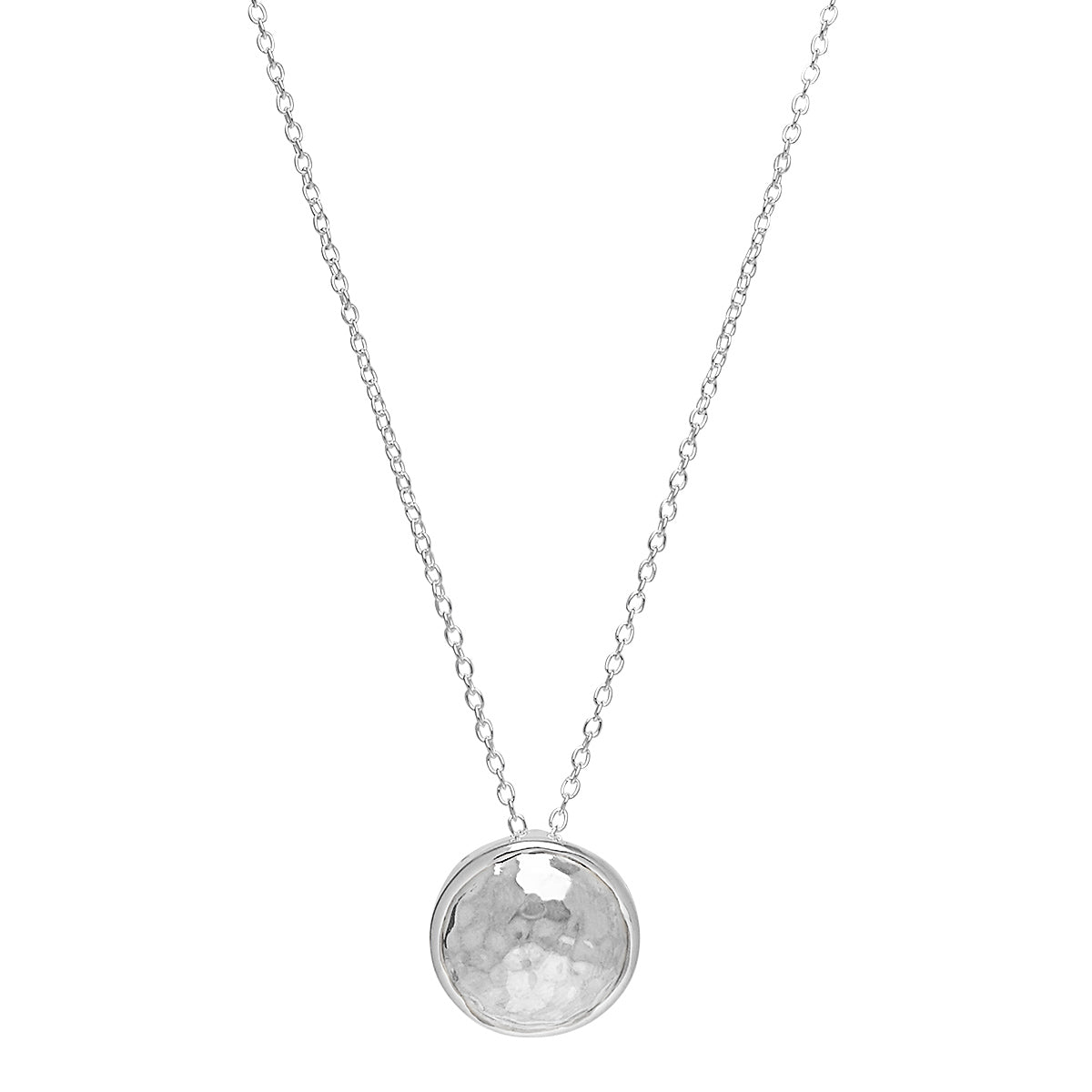 Grand Silver Glow Necklace