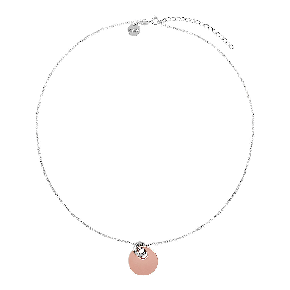 Lentil Necklace Rose