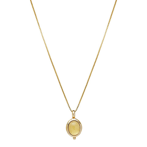 Justinia Necklace Citrine