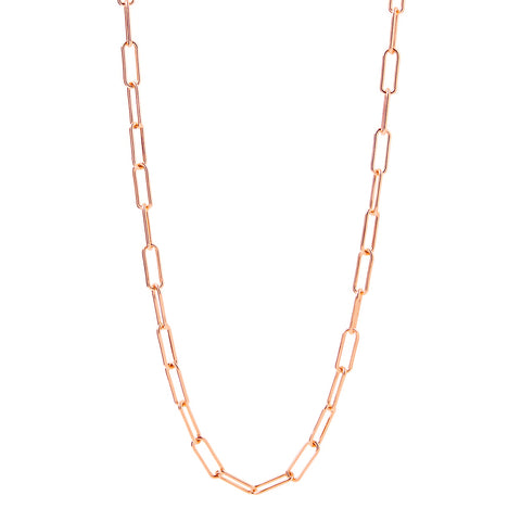 Vista Chain Necklace Rose Gold  (60cm)