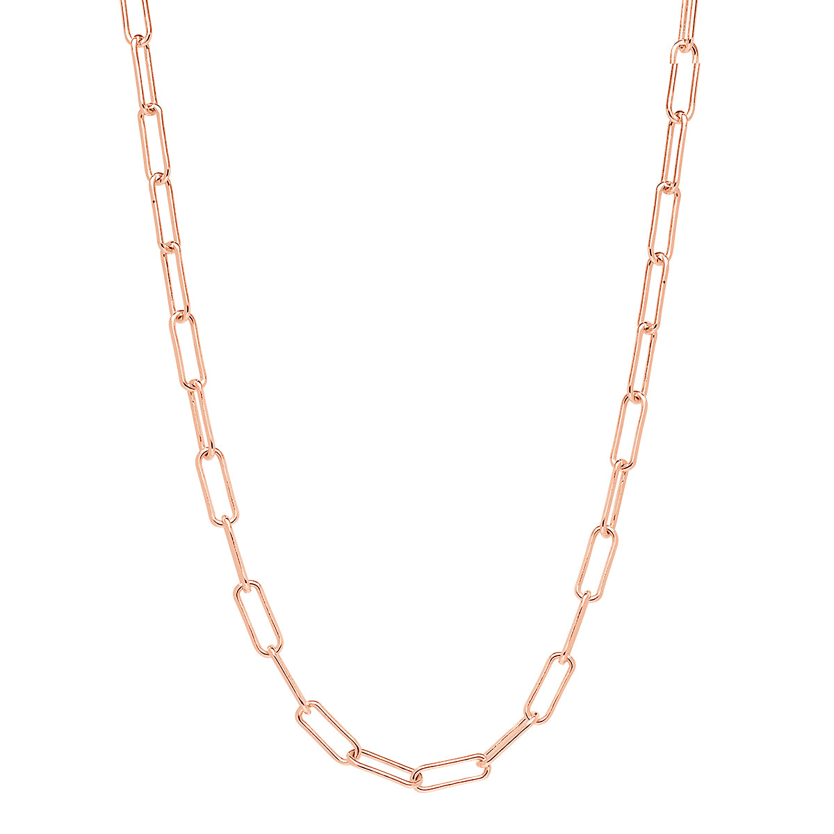Vista Rose Gold Chain Necklace
