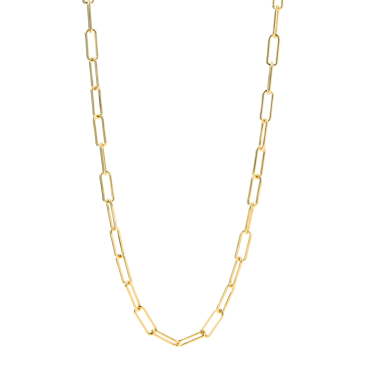 Vista Chain Yellow Gold Necklace (60cm)