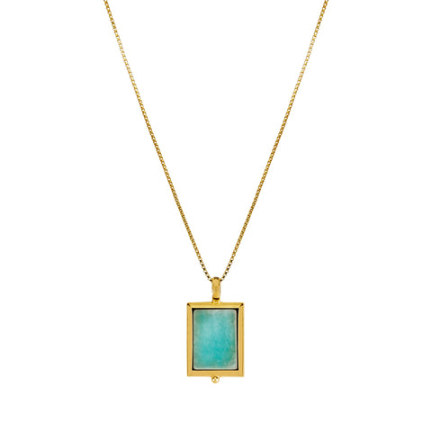 Josephine Amazonite Necklace
