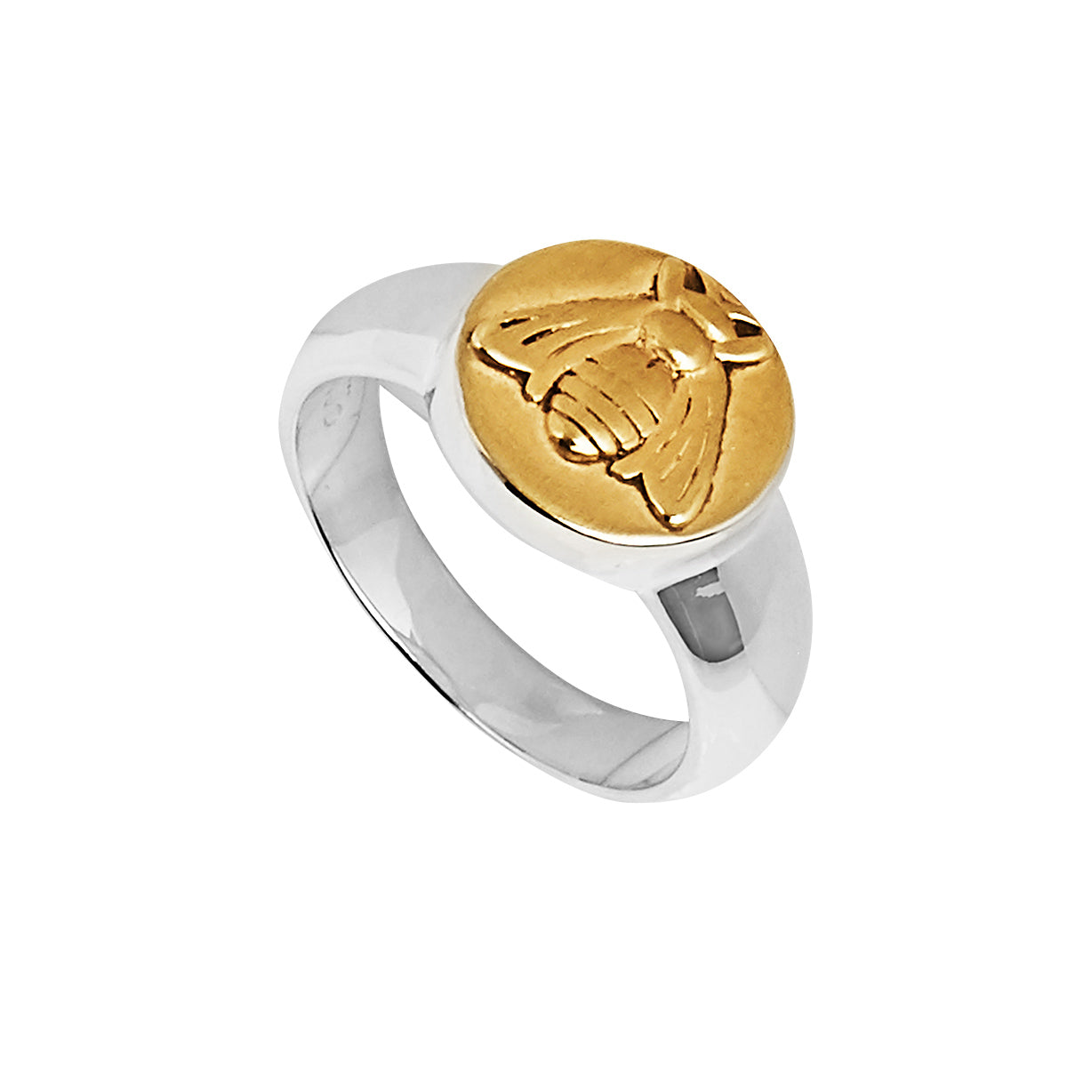 Golden Bee Ring