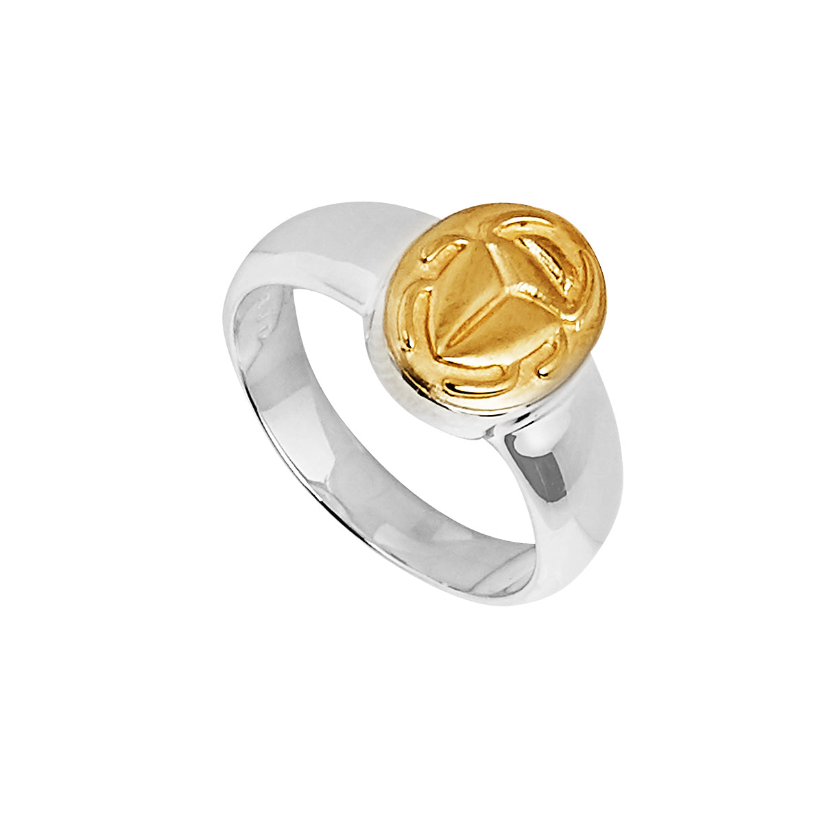 Golden Scarab Ring