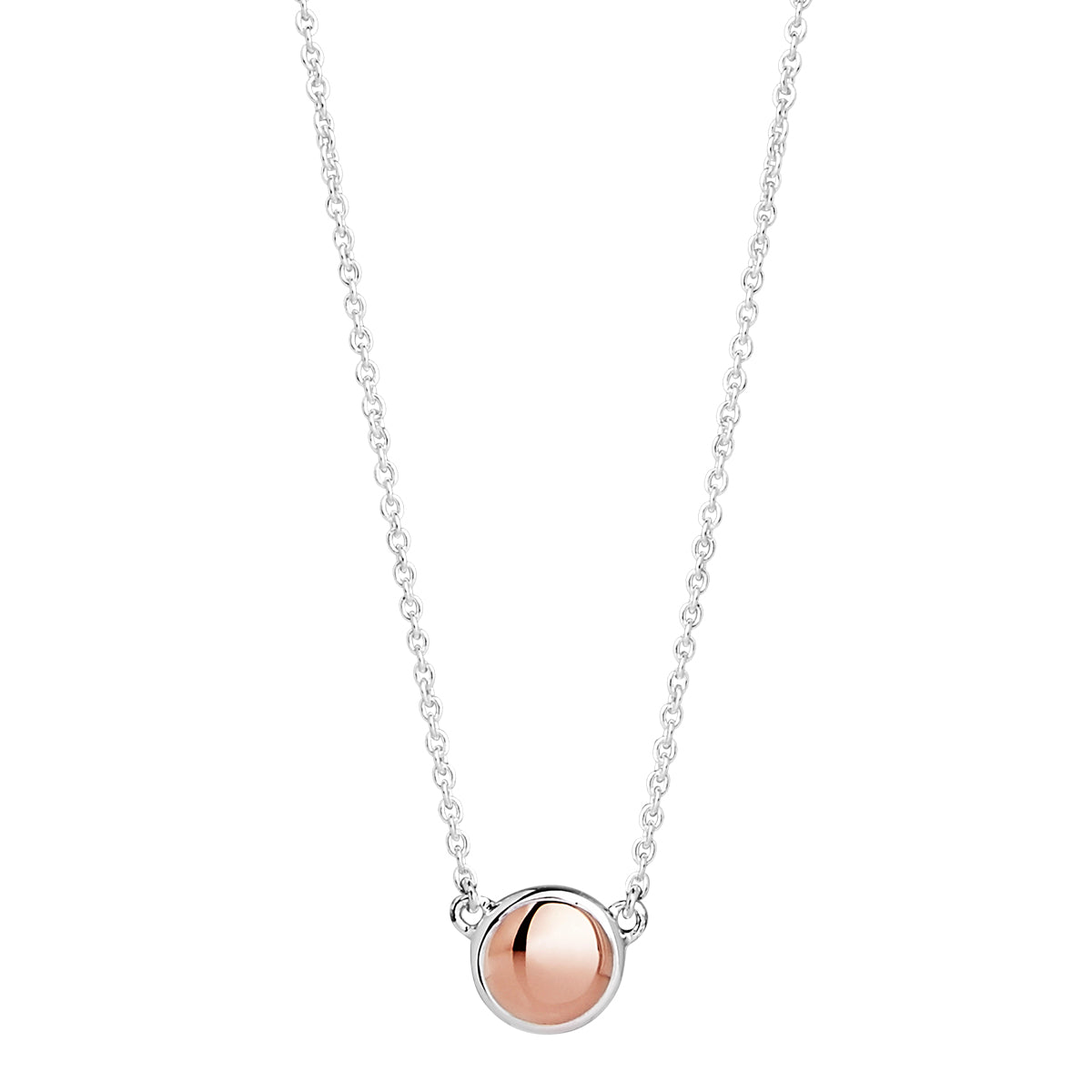 Rosy Glimmer Necklace