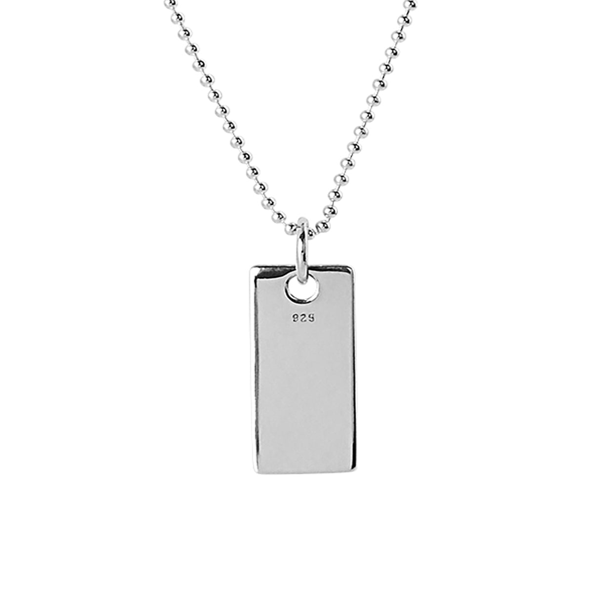 Mini Tag Necklace