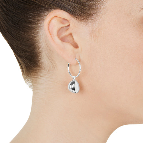 Piedra Large Hoop Earring