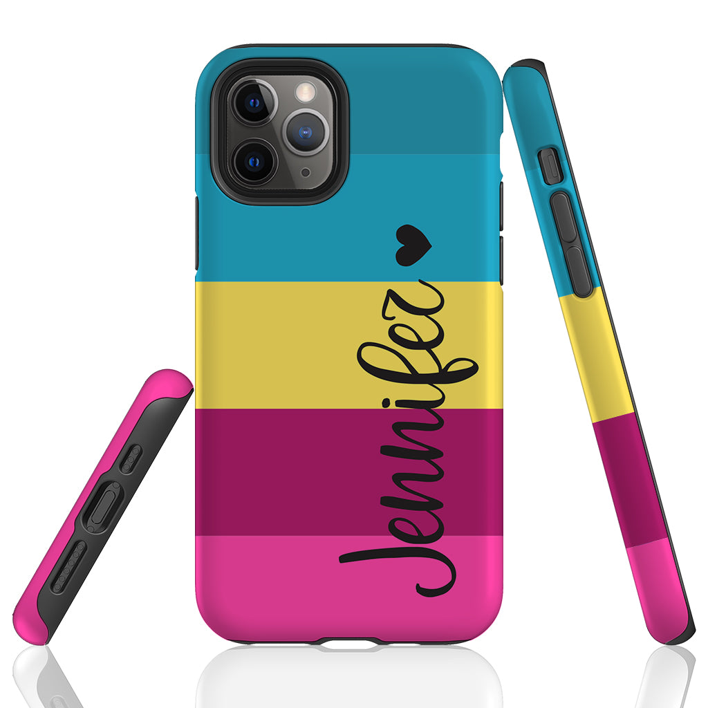Personalized Trendy Blue to Pink Phone Case