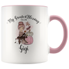 Personalized My Greatest Blessings Call Me Mug - Pink
