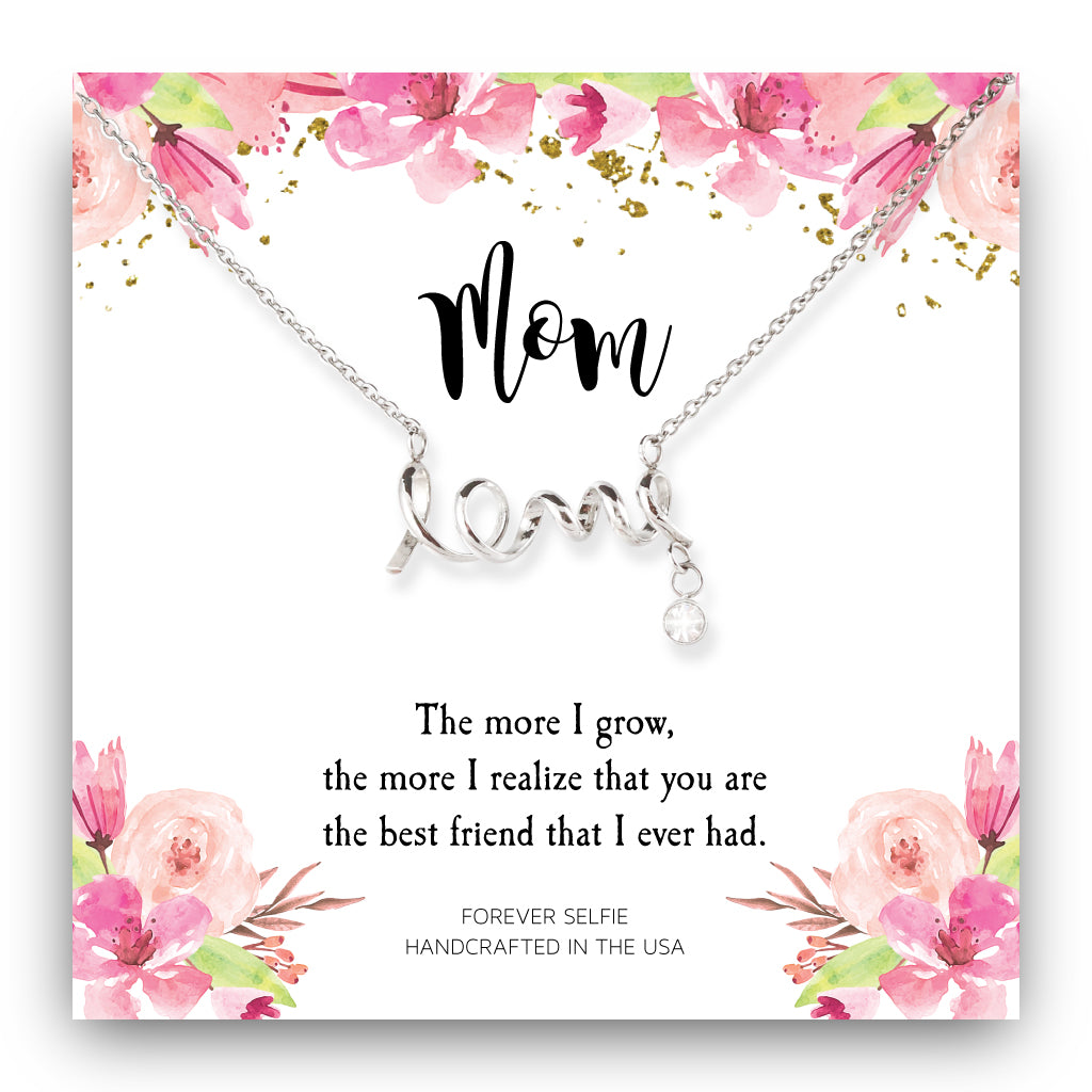 Mom Best Friend Ever Necklace
