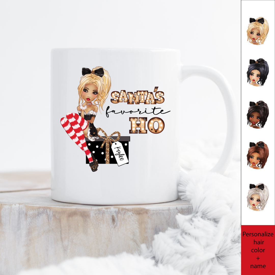 Personalized Christmas Mugs Forever Selfie